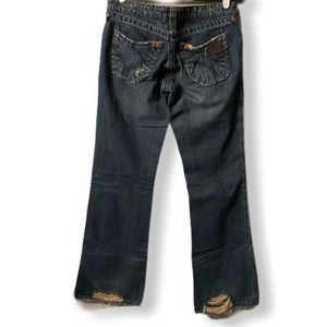🏖4/$25 Stitch's Cheyenne Wide Leg Jeans